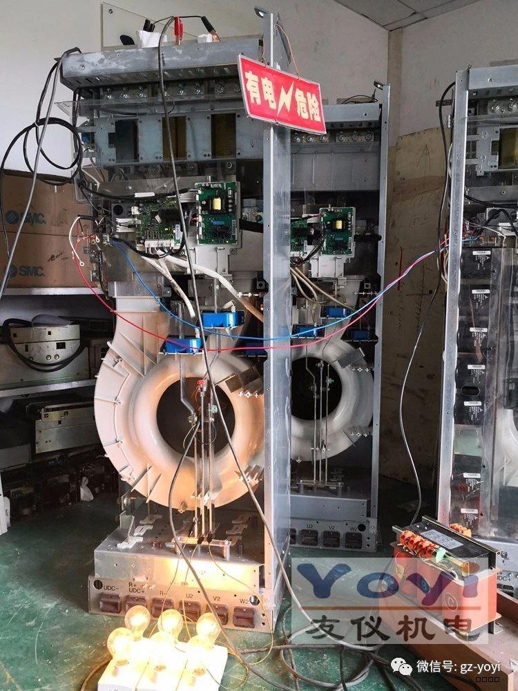 吹膜机变频器维修案例